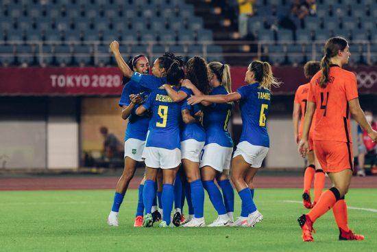 Brasil 3 x 3 Holanda - Seleção Feminina nos Jogos Olímpicos de Tóquio 2020