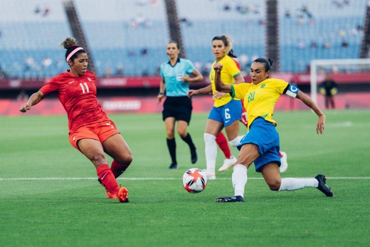 Seleção Brasileira perde nos pênaltis para o Canadá, pelas quartas de final dos Jogos Olímpicos de Tóquio