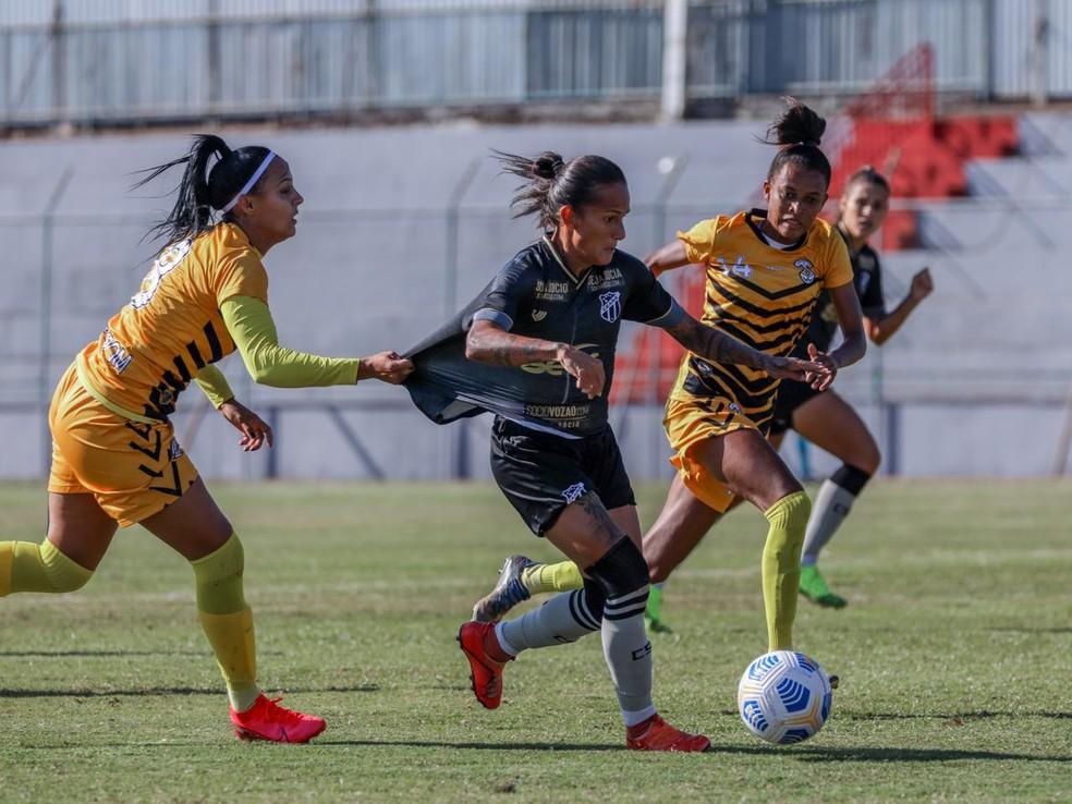 Cresspom e Ceará empatam, em 0 x 0, no estádio Abaião, no primeiro jogo das quartas de final do Brasileirão A2 de 2021