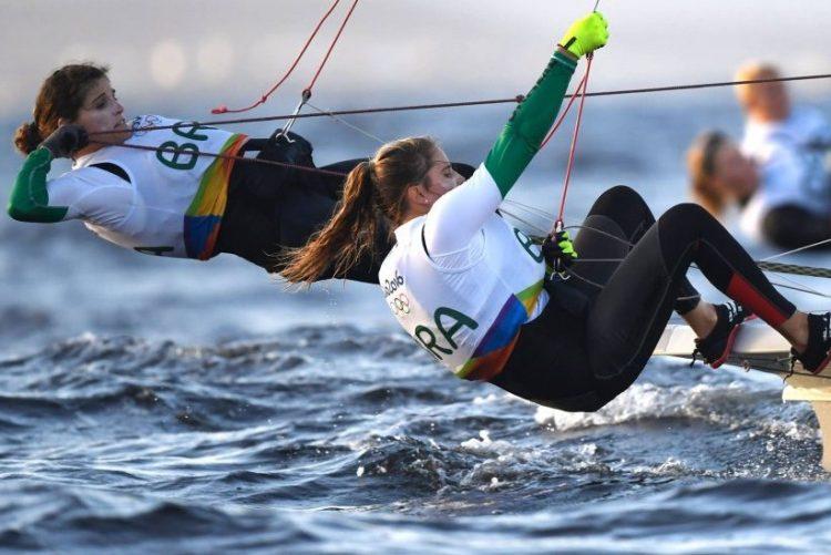Brasileiras Kahena Kunze e Martine Grael são favoritas ao bicampeonato olímpico na categoria 49er FX da vela