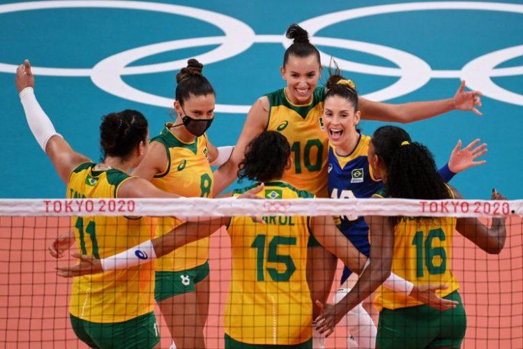 Seleção feminina de vôlei vence República Dominicana no tie break no segundo jogo pelas Olimpíadas de Tóquio-2020