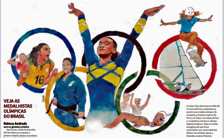 Brasil amplia o número de mulheres medalhistas olímpicas em Tóquio-2020