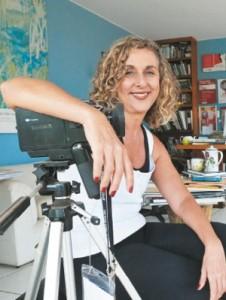 A cineasta Tania Fontenele