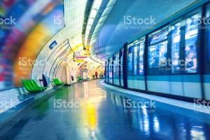 Metrô de Paris, França. Foto: Getty Images