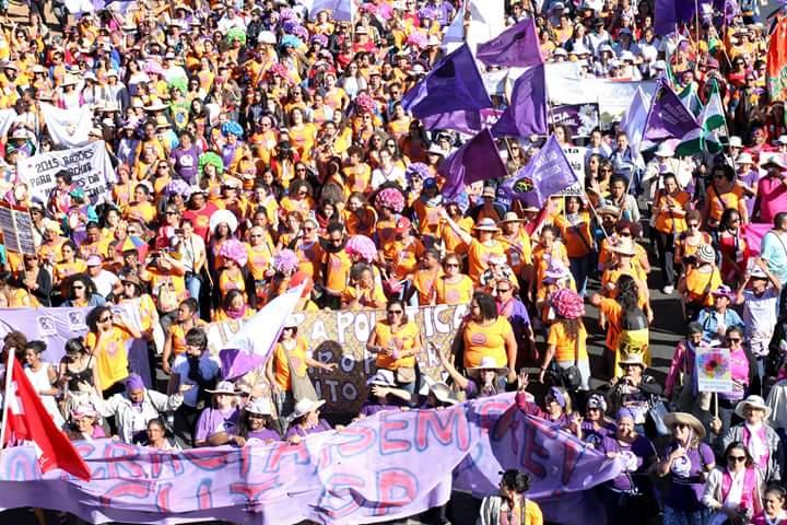 Marcha das Margaridas, em Brasília, em 2015. As diversidades e diferenças em tais marchas fortalecem as mulheres.