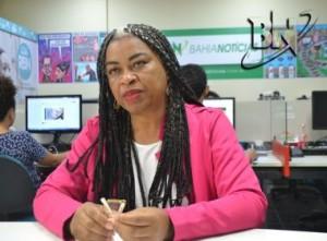 A secretária de Trabalho, Emprego, Renda e Esporte da Bahia, Olivia Santana.