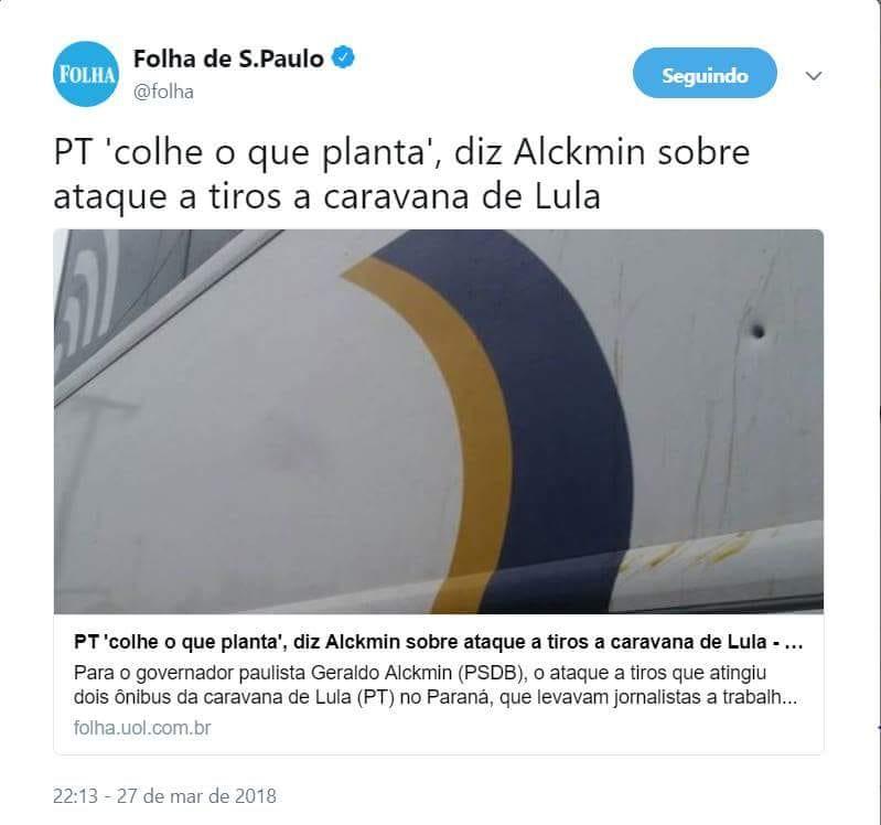 Alckmin Caravana