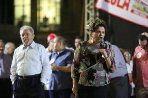 A ex-presidenta Dilma Rousseff promete denunciar as violências contra o PT em vários países