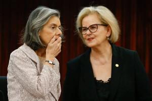 A presidenta do STF, ministra Cármem Lucia, e a ministra Rosa Weber. Foto: UOL Notícias