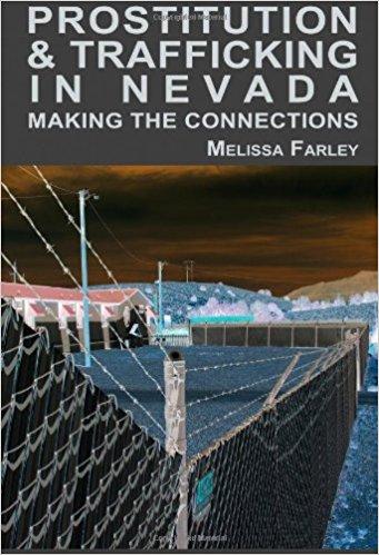 Capa do livro de Melissa Farley sobre os bordeis legalizados em Nevada