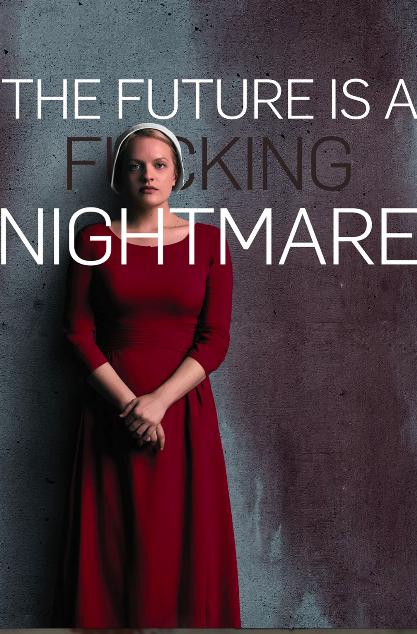 Elizabeth Moss: produtora e personagem principal no Conto da Aia. O futuro é um pesadelo.