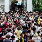 Crédito: Luiz ALves/Secult. O cantor é velado em Sobral, onde mais de sete mil fãs foram se despedir