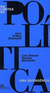 Crédito: Companhia das Letras/Reprodução. Capa do livro Os limites da política: uma divergência; de José Arthur Giannotti e Luiz Damon Santos Moitinho.