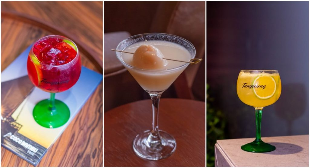Novos drinques do Coco Bambu