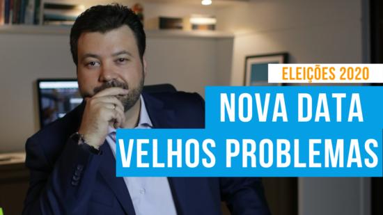 artigo nova data eleições 2020 marcelo vitorino correio braziliense