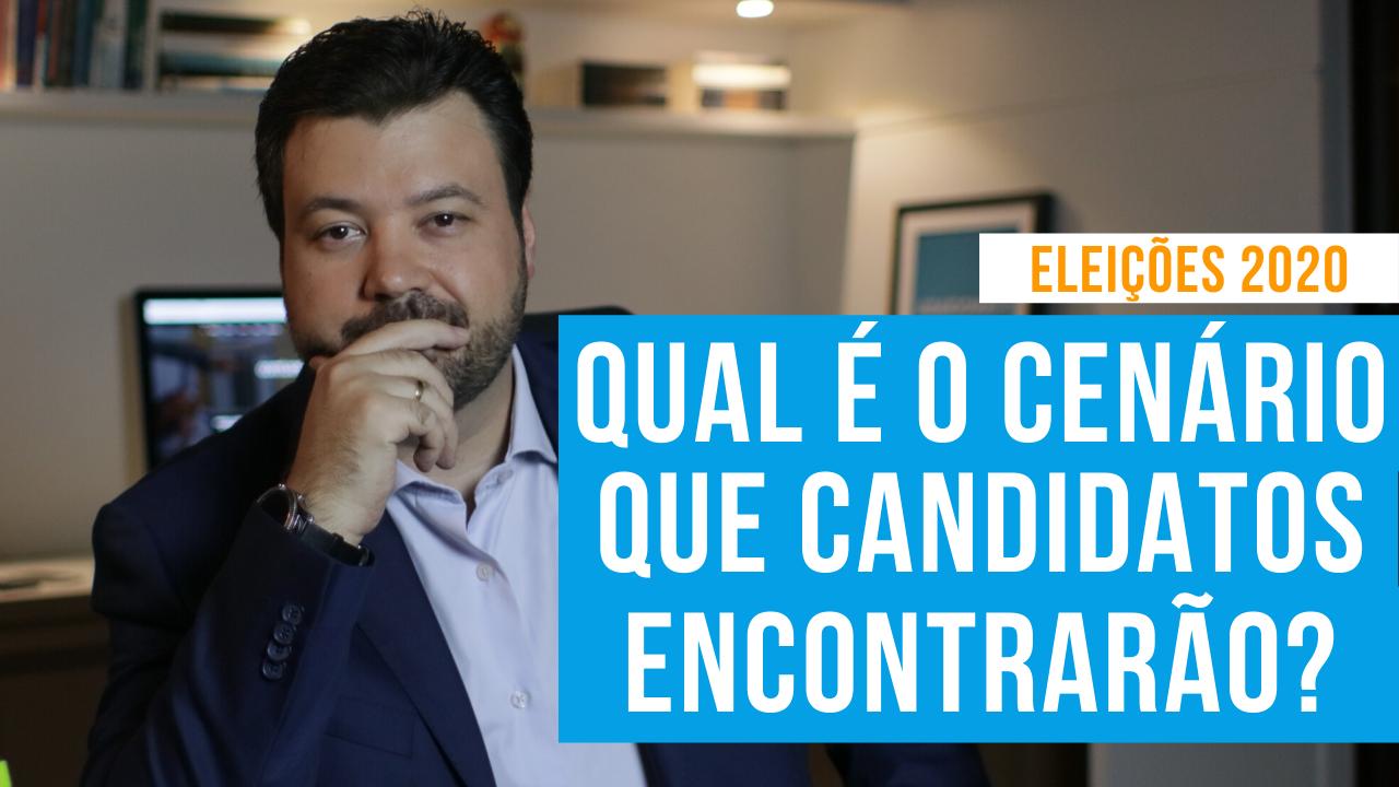 novo cenário eleições de 2020 candidatos marcelo vitorino