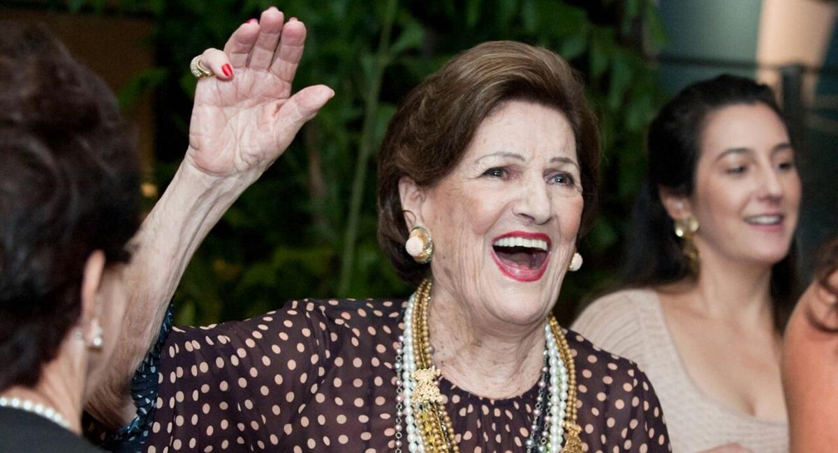 Wilma Pereira comemorou 90 anos com alegria