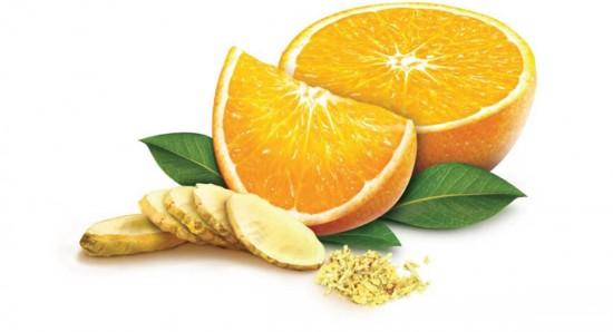 A combinação entre laranja e gengibre é surpreendente