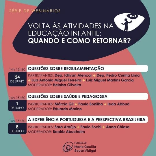 Fundação Maria Cecilia Souto Vidigal/Divulgação