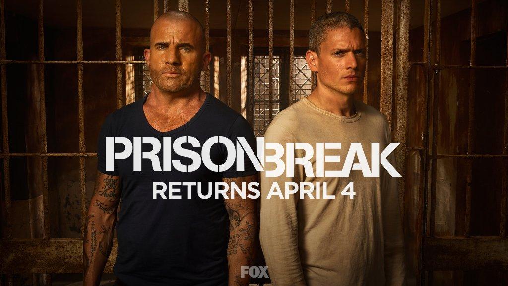 Imagem de divulgação da nova temporada de Prison Break