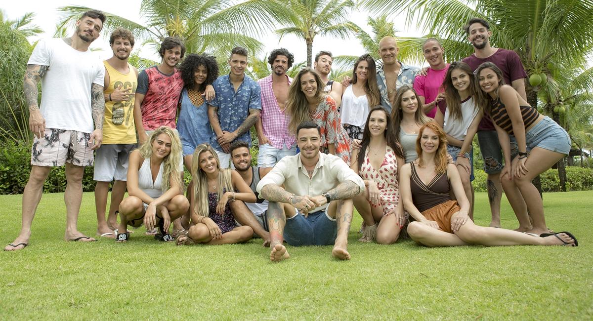 Elenco da terceira temporada de Are you the one? Brasil, da MTV.
