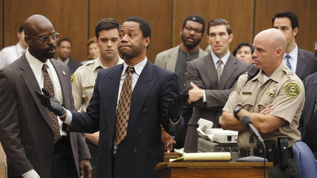 Cena da série American crime story: O povo contra O.J. Simpson