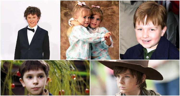 atores mirins que cresceram na TV