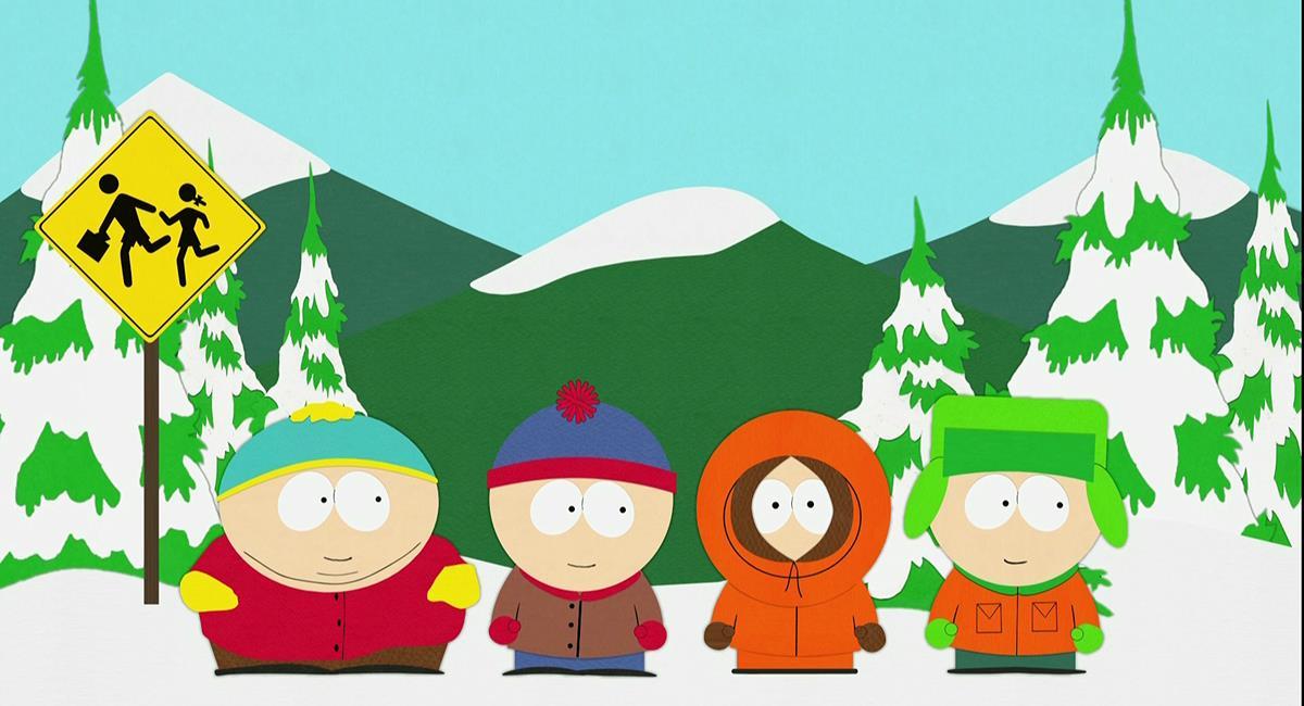 Cena da animação South Park