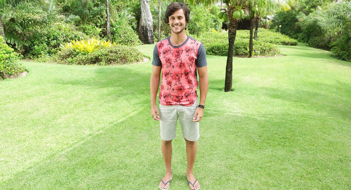 Participante Felipe Marques da terceira temporada de Are you the one? Brasil