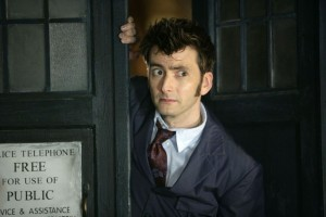 Doctor Who. David Tennant como o 10º Doutor.