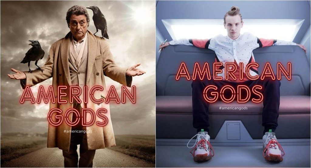 American gods cartazes