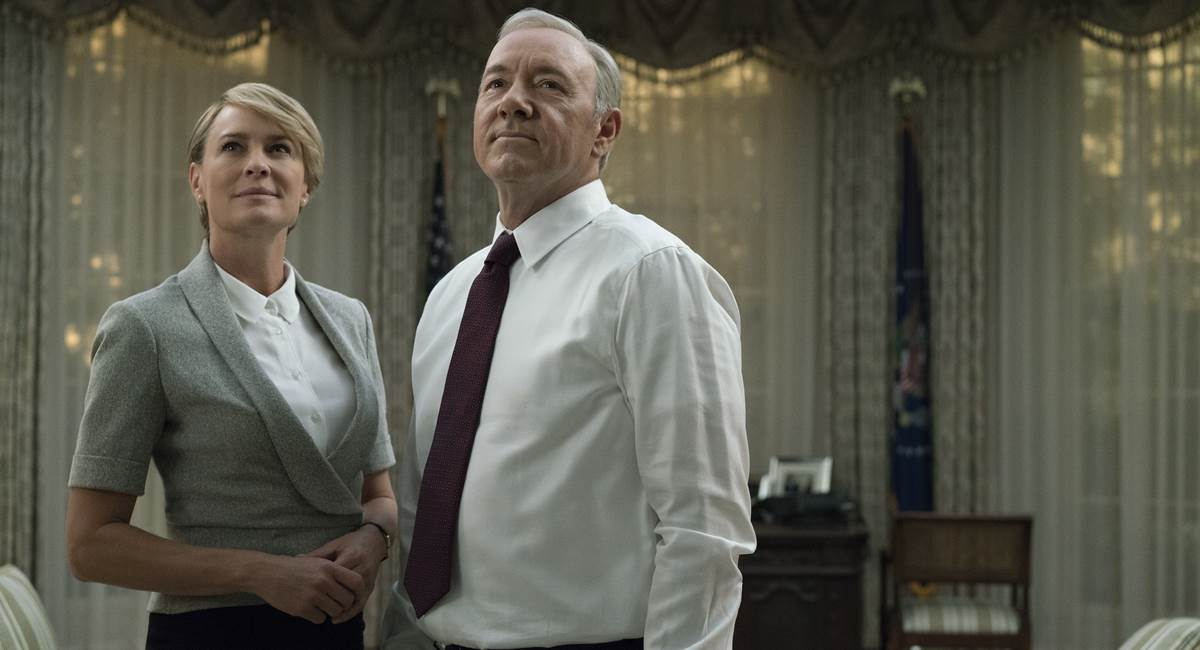 Cena da quinta temporada de House of cards