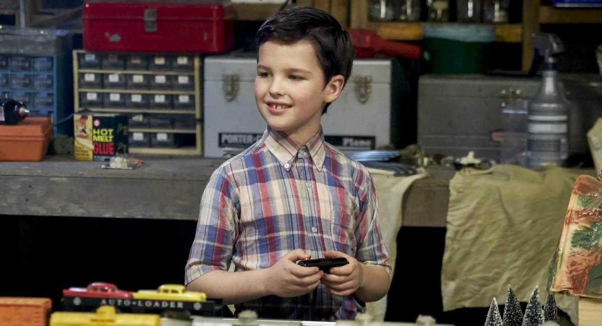 Cena da série Young Sheldon, uma das estreias da fall season 2017