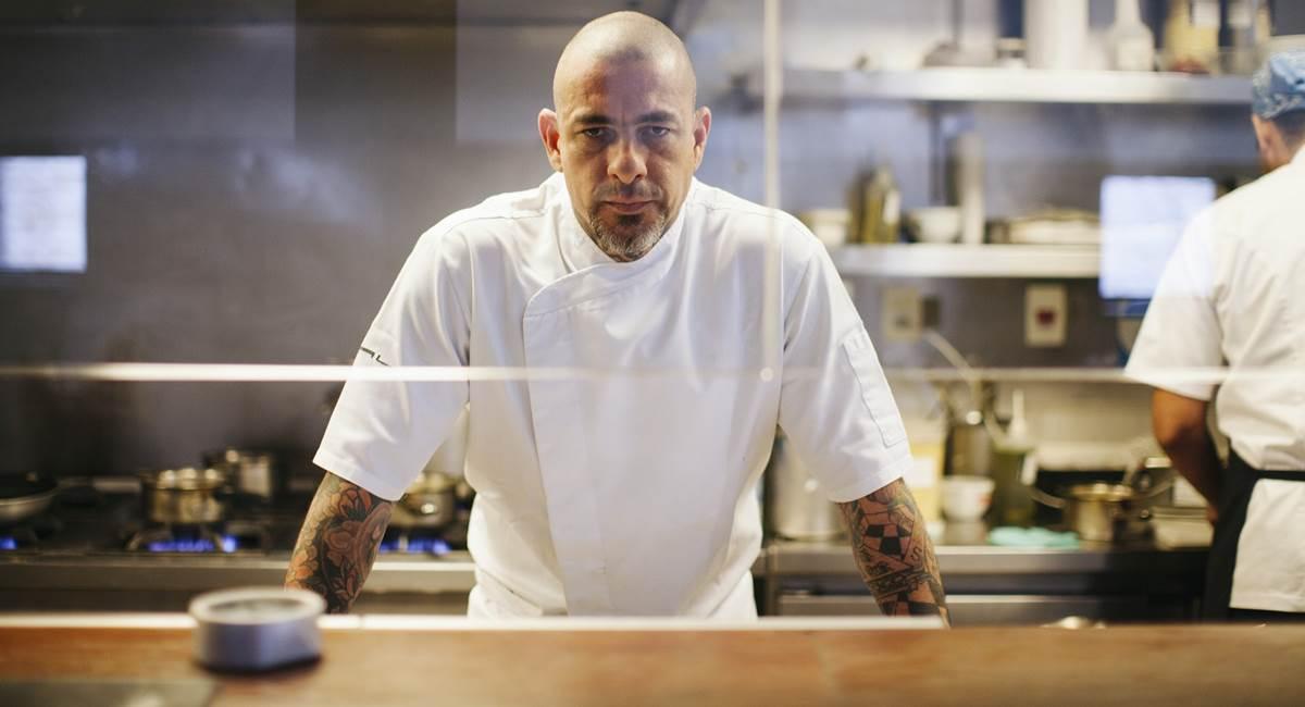 Chef Henrique Fogaça do MasterChef Brasil