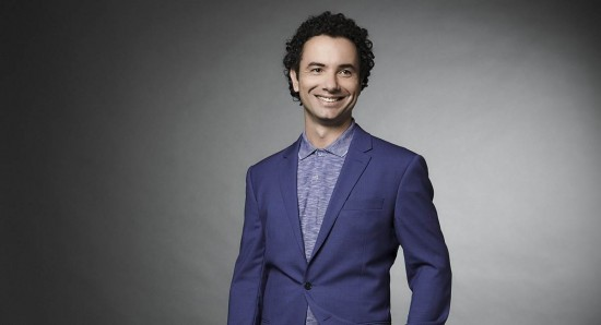 Marco Luque no stand-up da Netflix