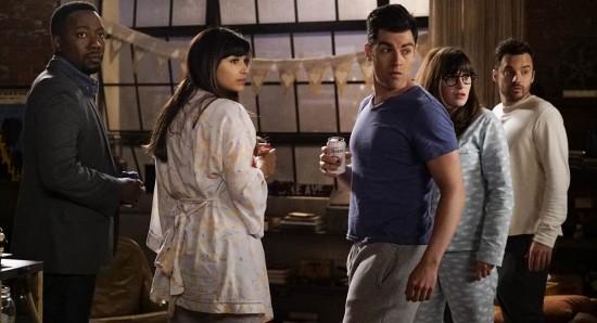 Cena da sexta temporada de New girl.
