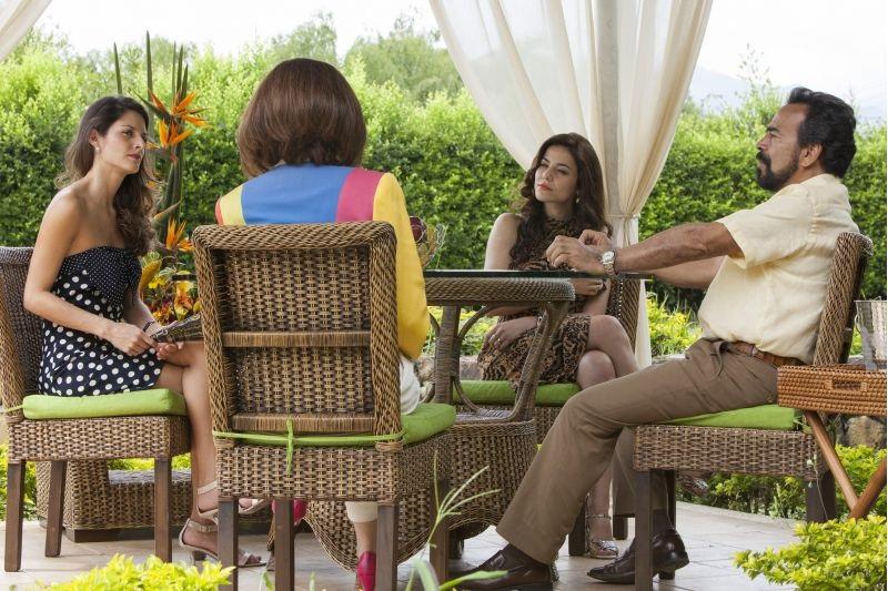 Cenas da terceira temporada de Narcos.