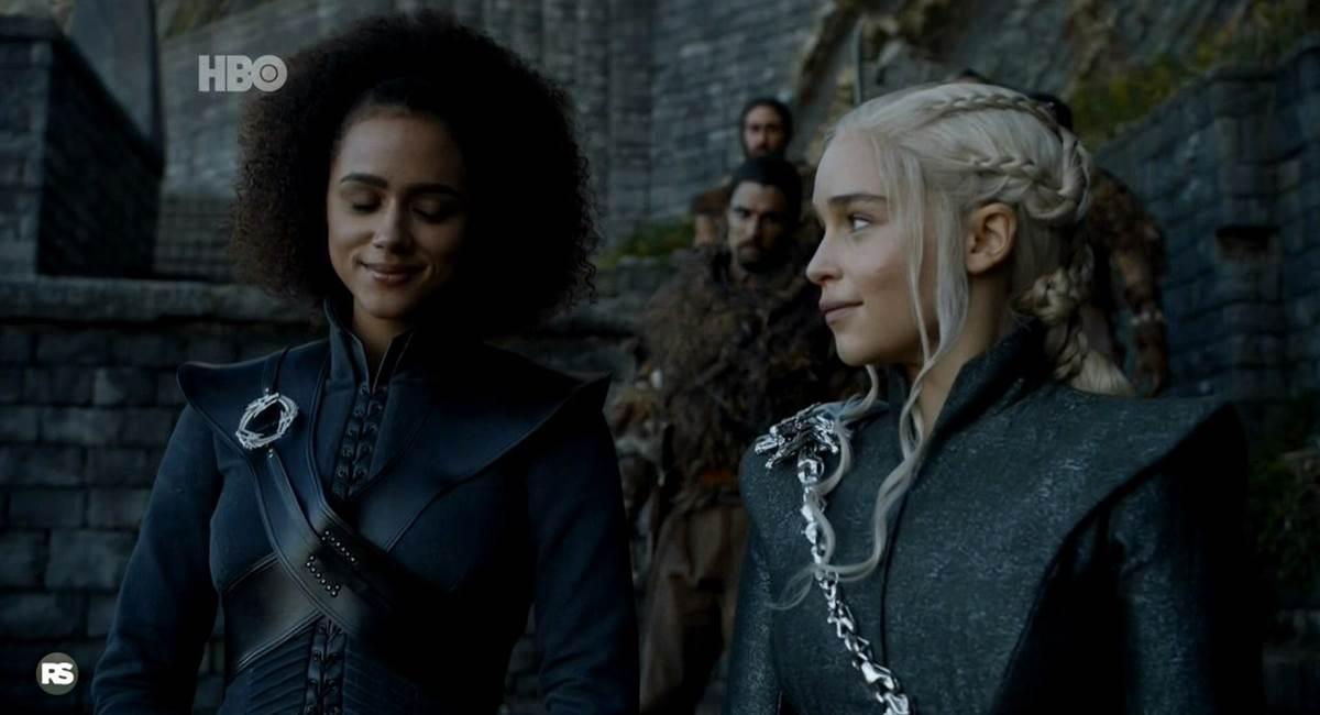Cena do quarto episódio de Game of thrones, The spoils of war