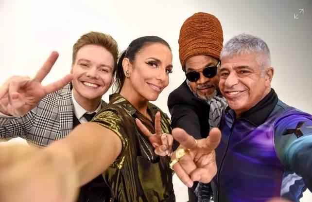 Jurados do The voice Brasil