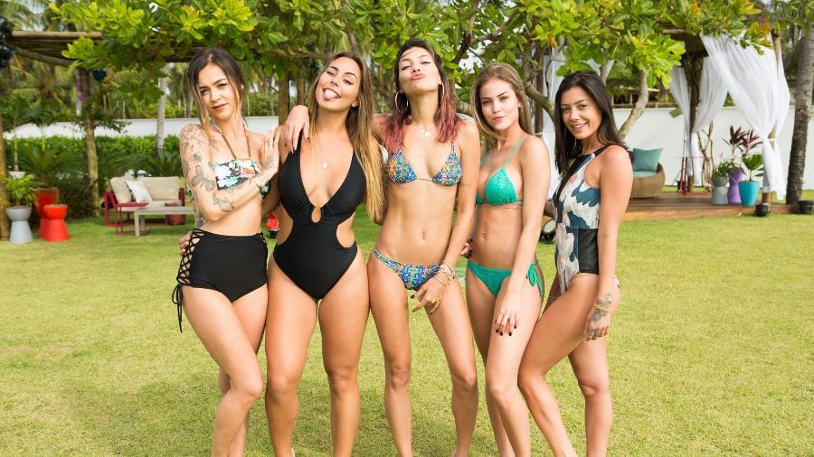Elenco feminino da segunda temporada de De férias com ex Brasil