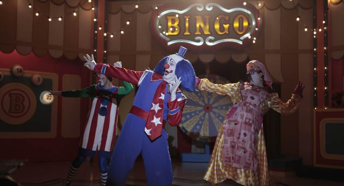 Imagens do filme Bingo -- O rei da manhã.