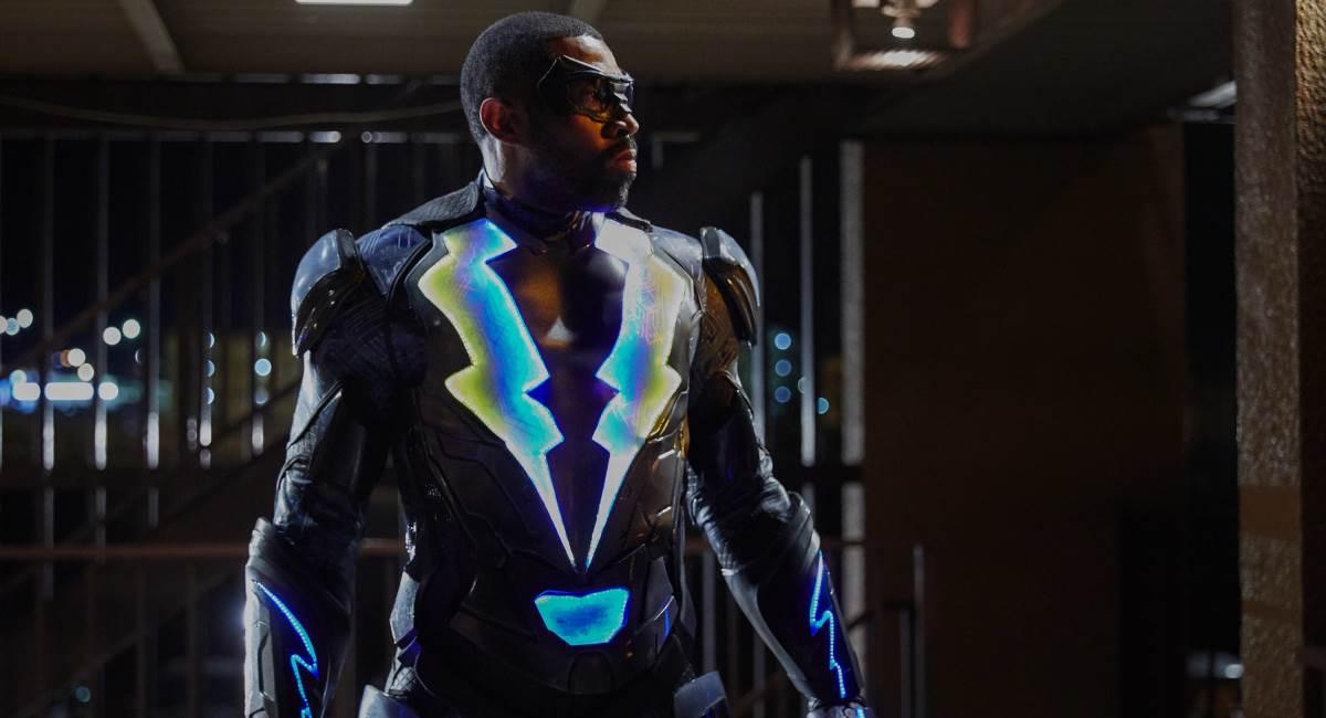 Protagonista da série Black lightning