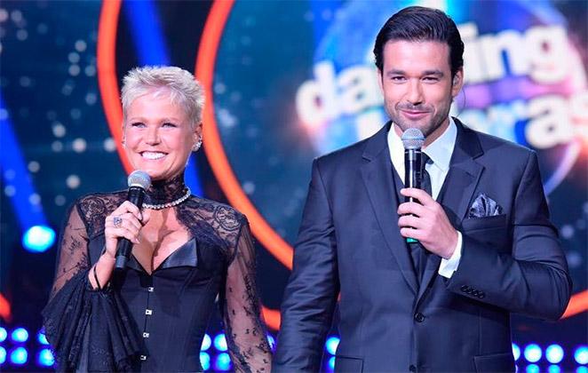 Xuxa e Sérgio Marone em Dancing Brasil