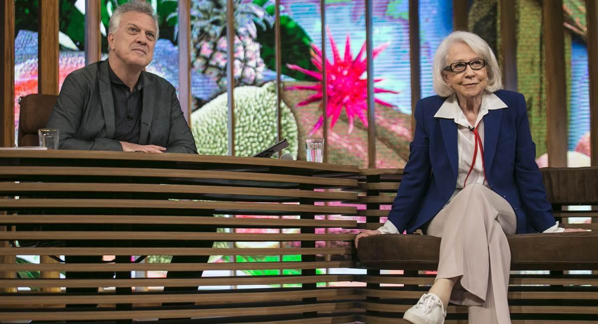 Fernanda Montenegro encerrou a temporada de Conversa com Bial
