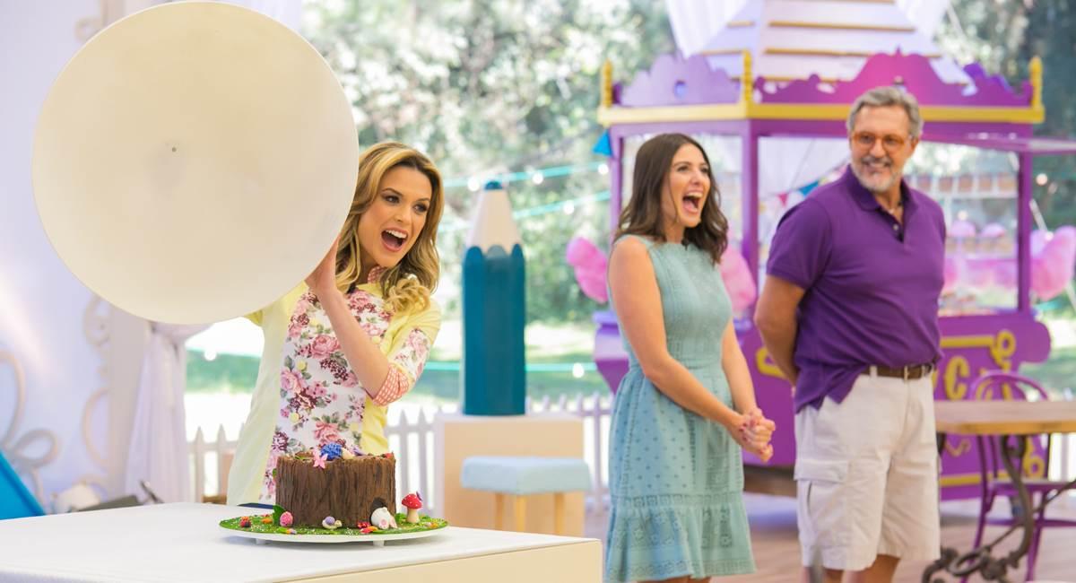 Os cenários terão tons mais lúdicos na versão Junior do Bake off Brasil