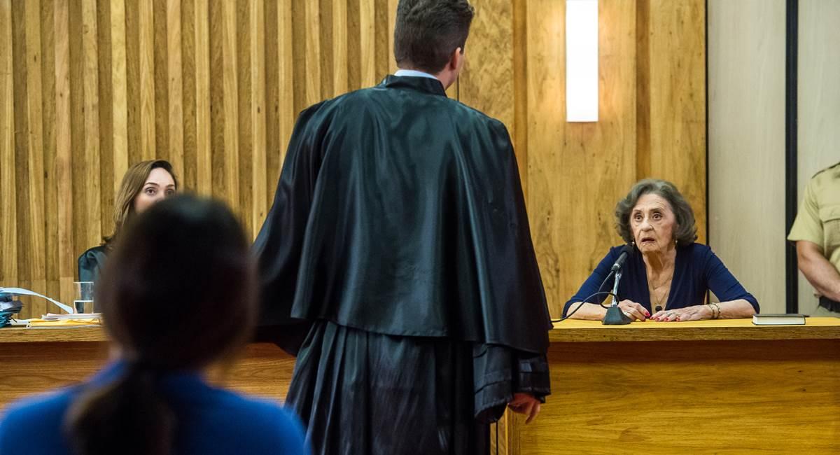Laura Cardoso roubou a cena no julgamento de Duda