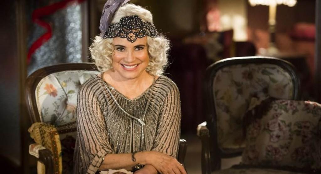 01/09/2017. Crédito: Globo/João Miguel Júnior. Regina Duarte como Madame Lucinda na novela Tempo de amar.