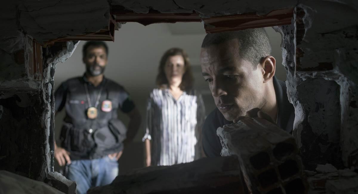 Crédito: Karima Shehata/Netflix. Jonathan como Vander em O mecanismo