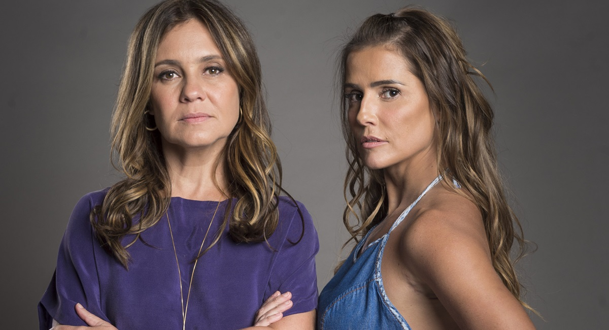 Adriana Esteves e Deborah Secco: dobradinha do mal