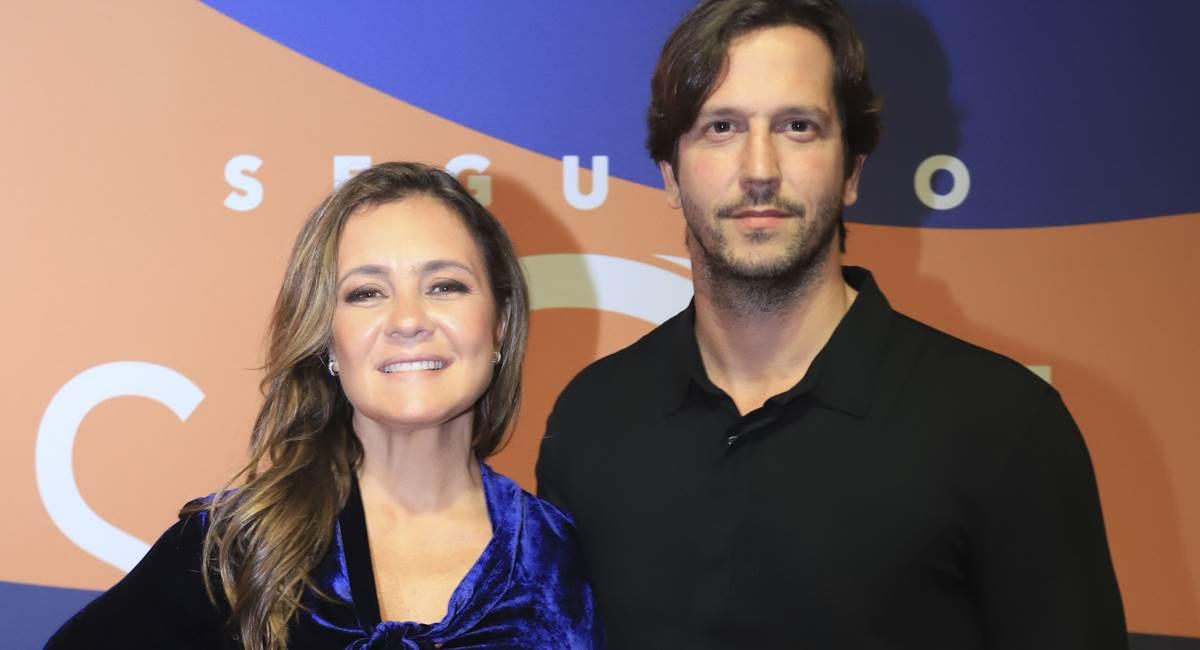 Casal Adriana Esteves e Vladimir Brichta